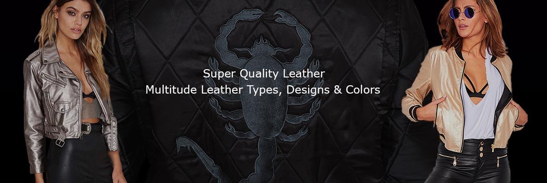 Women Leather Stars Jackets