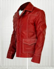 Brad Pitt Fight Club Real Leather Jackets