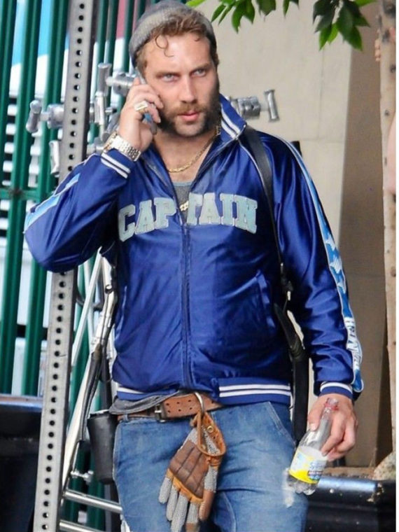 Captain Boomerang Bomber Blue Jacket