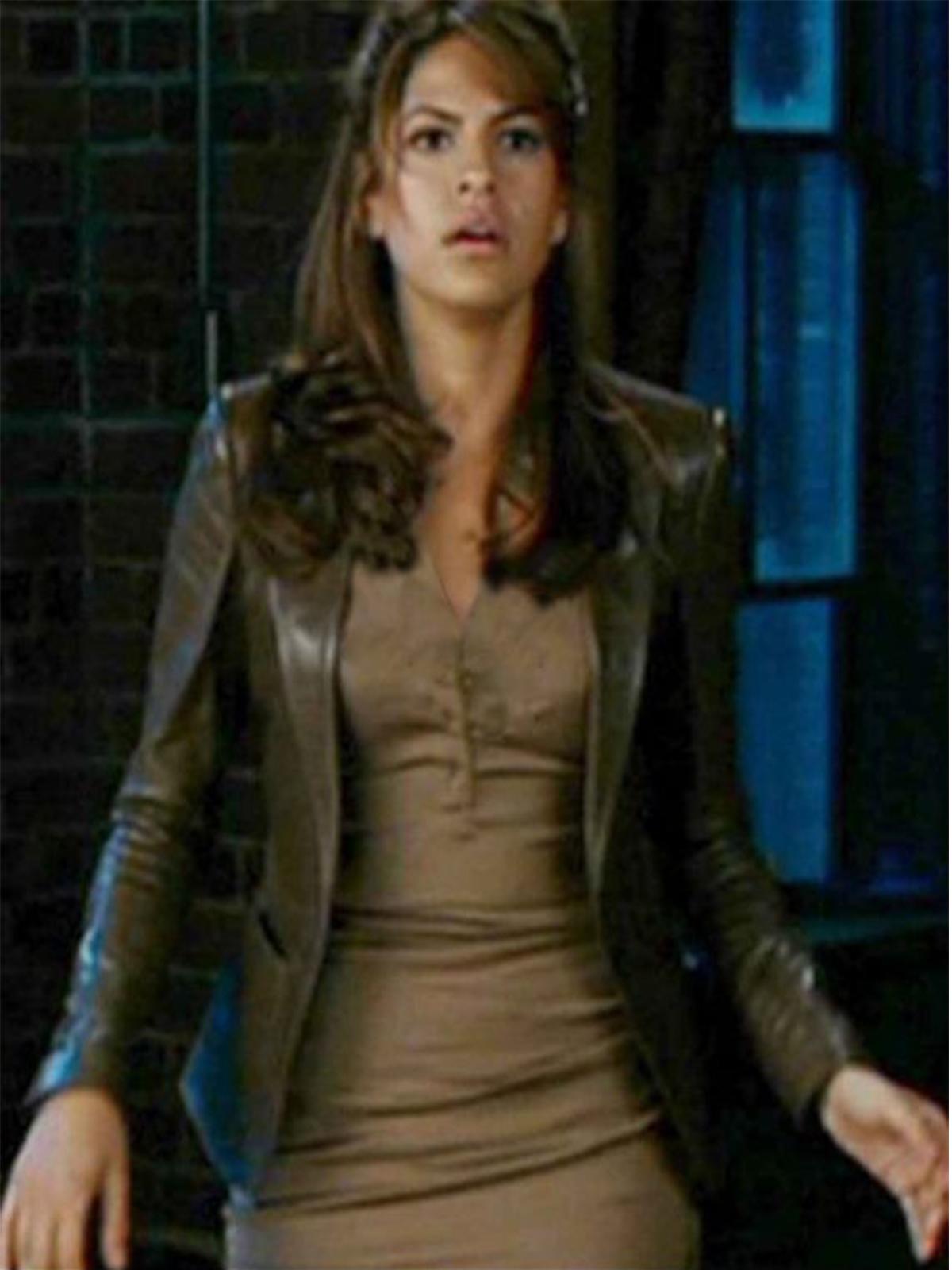 Roxanne Simpson Ghost Rider Woman Jacket Stars Jackets