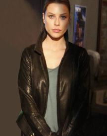 Lauren German Black Leather Jacket