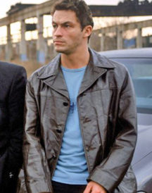 The Wire TV Series Dominic West Black Coat