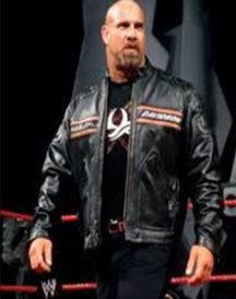 WWE Bill Goldberg Leather Jacket