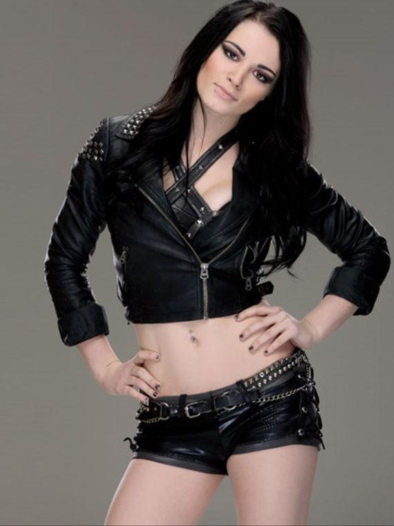 WWE Paige Leather Jacket