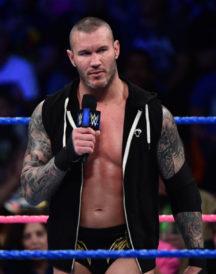 WWE Randy Orton Black Hoodie Vest