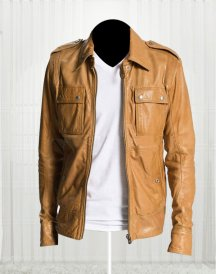 50 Cent Lisardo Tan Jacket