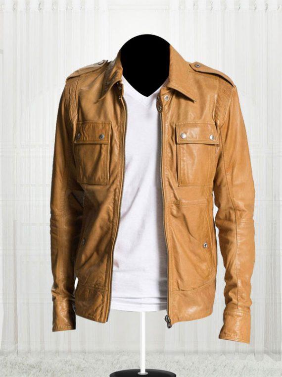 50 Cent Lisardo Tan Jacket