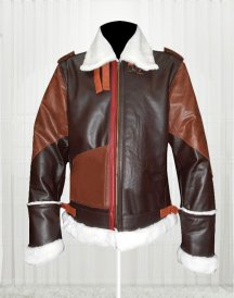 B-3 Bomber Cow Hide Leather Jacket