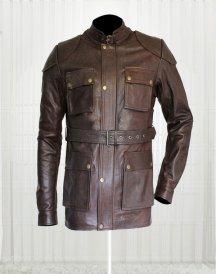 Benjamin Button Best Quality Brown Jacket