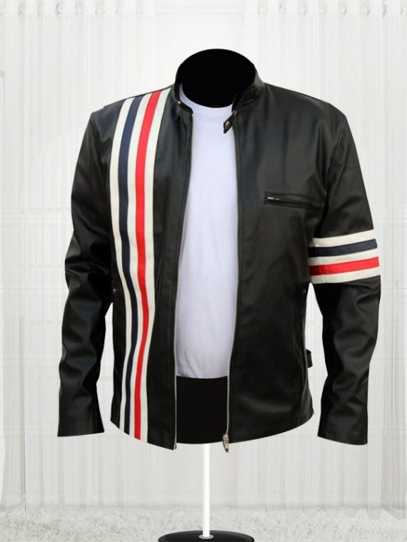 Captain America Easy Rider Black Jackets