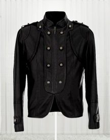 Carley Ladies Black Biker Jacket