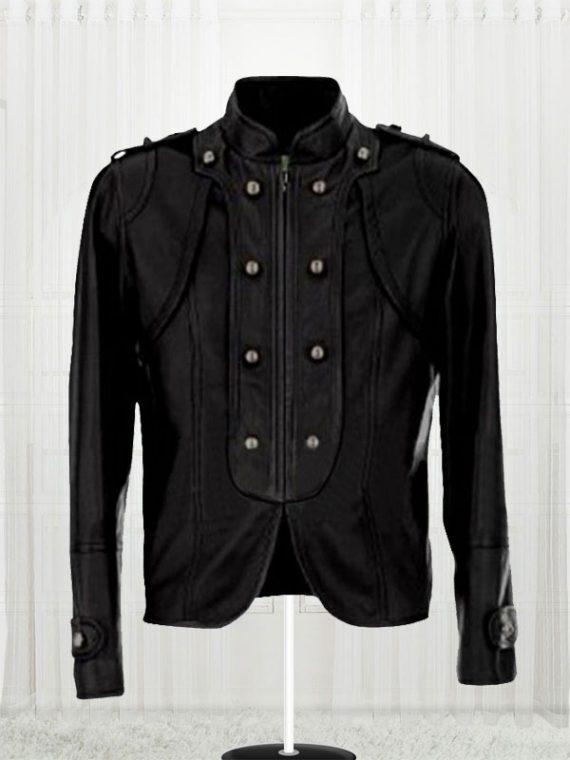 Carley Ladies Black Biker Jacket