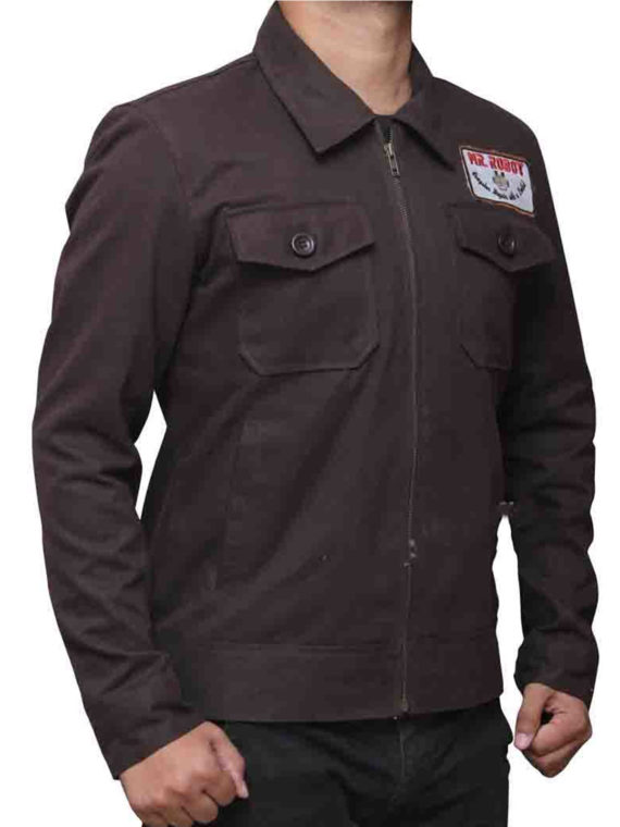 Christian Slater Mr Robot Cotton Jacket