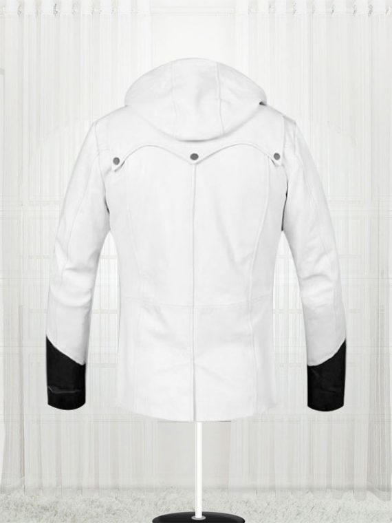 Devil May Cry White Leather jacket