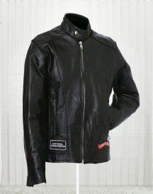 Diamond Plate Unisex Buffalo Leather Jackets