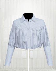 Ferris Bueller Sloane Peterson Nice Looking For Woman White Jacket