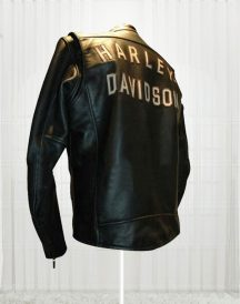 Harley Birler Davidson Black Biker Leather Jackets
