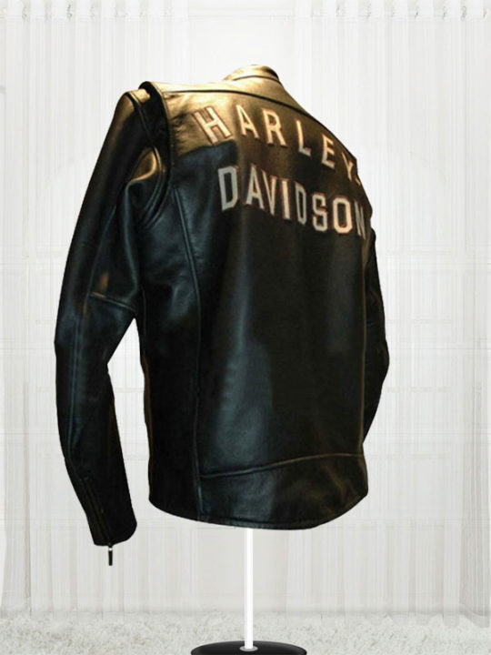 Harley Birler Davidson Black Biker Leather Jackets