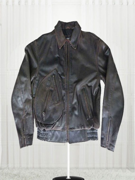 Harley Davidson Motorcycle Distressed Leather Jacket
