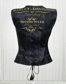 Harley Davidson Women's Great Fashion Design Leather Vests