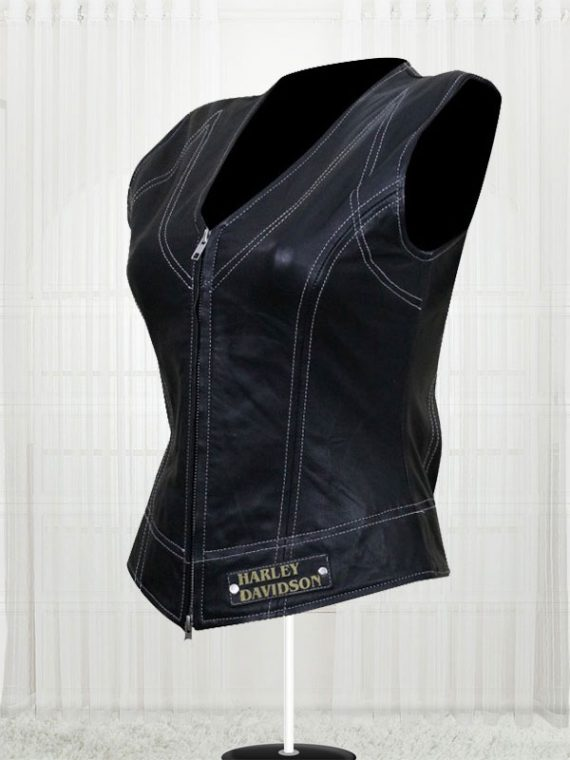 Harley Davidson Women's Leather Vest
