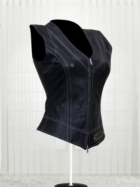 Harley Davidson Women's Leather Vests