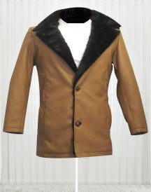 Hugh Jackman The Wolverine Brown Coat