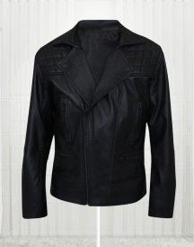 James Marsden D Train Oliver Lawless Biker Leather Jacket
