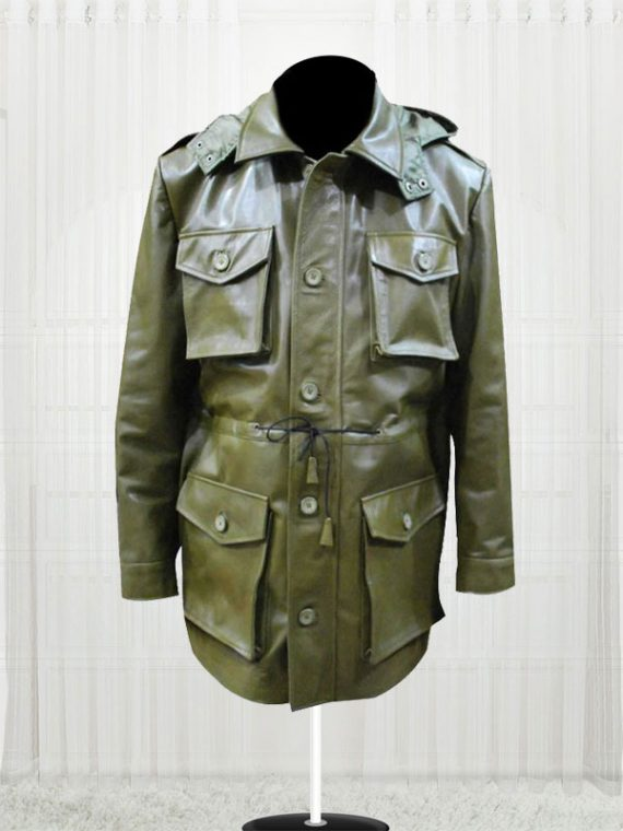 Killing Season Emil Kovac (John Travolta) Faded Green Coat