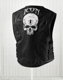 Men's Skull Regulator Icon Biker Vest