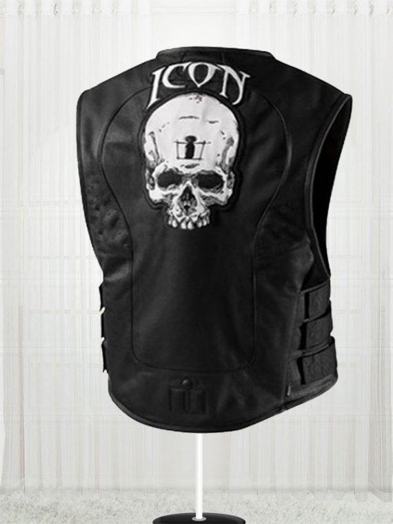 Men's Skull Regulator Icon Biker Vest