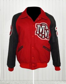Michael Jackson Mickey Mouse Club Varsity Bomber Jacket