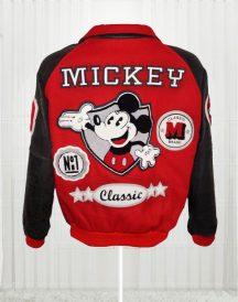 Michael Jackson Mickey Mouse Club Varsity Bomber Jackets