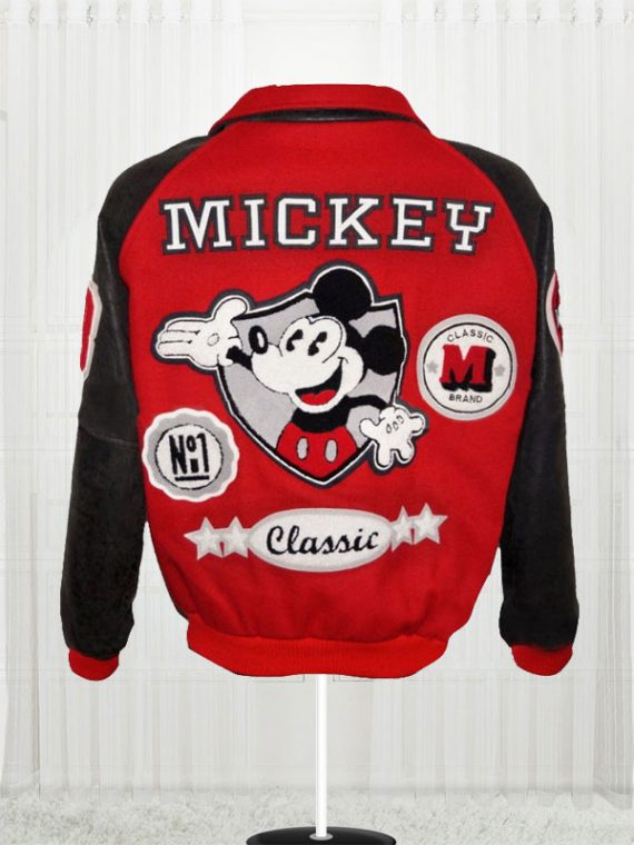 Michael Jackson Mickey Mouse Club Varsity Bomber Jackets