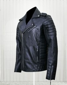 Prestige Homme MR18 Kay Michael Quilted Biker Jackets