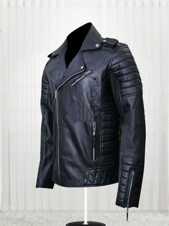 Prestige Homme MR18 Kay Michael Quilted Biker Jackets