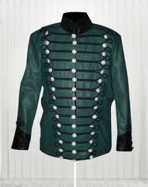 Sharpe's Rifles Sean Bean High Quality Green Military Embroidery Jacket