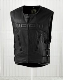 Skull Regulator Icon For Men's Biker Vest