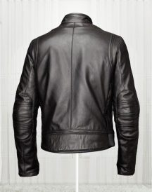 Slim Fit Bikers Black Leather Jacket