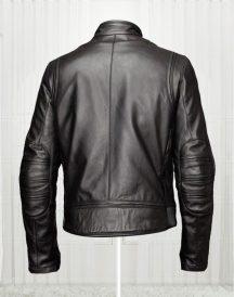 Slim Fit Bikers Black Leather Jacket