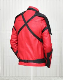 Suicide Squad Will Smith Red And Black Celebrity Jackets