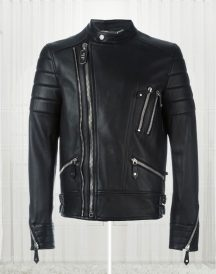 The Perfect Mix' Biker High Quality Black Leather Jacket