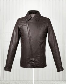 The Witcher 3 Wild Hunt Bleck For Men's Leather Jacket