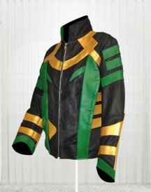 Thor Dark World Loki Tom Hiddleston Jacket