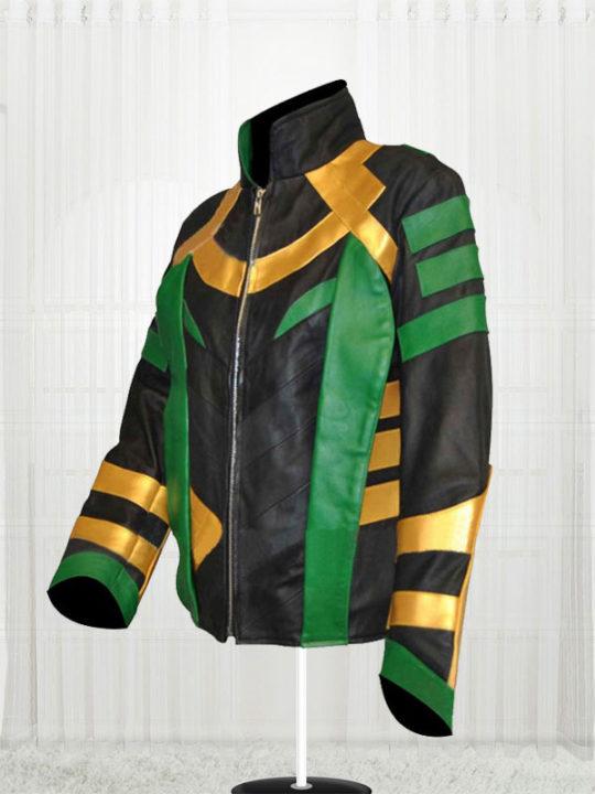 Thor Dark World Loki Tom Hiddleston Jacket