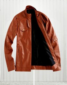 Tom Cruise Super Stylish Brown Leather Jacket