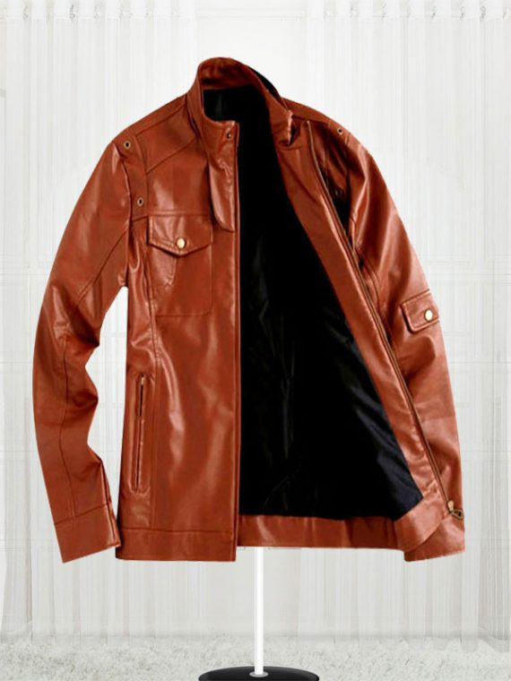 Tom Cruise Super Stylish Brown Leather Jacket