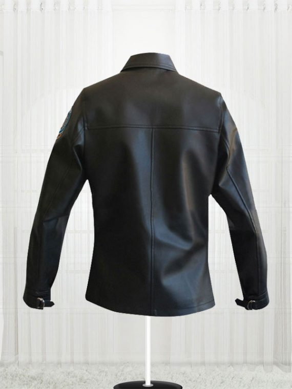 Top Gun Kelly McGillis (Charlie) Black Leather Jackets