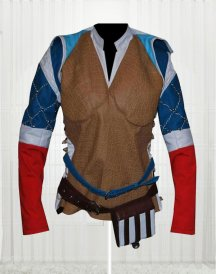 Triss Merigold Witcher 3 Wild Hunt Sorceress Stylish Women's Jacket