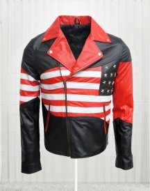 Amazing American Flag Cow Jacket